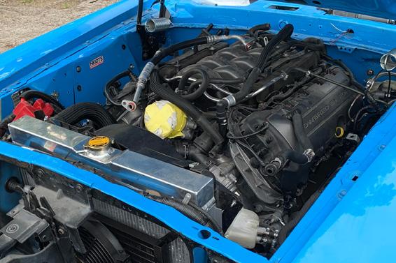 Coyote 5Liter Engine
