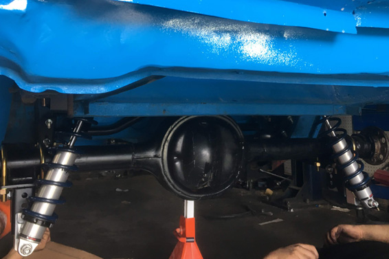 Stock Rear Suspension